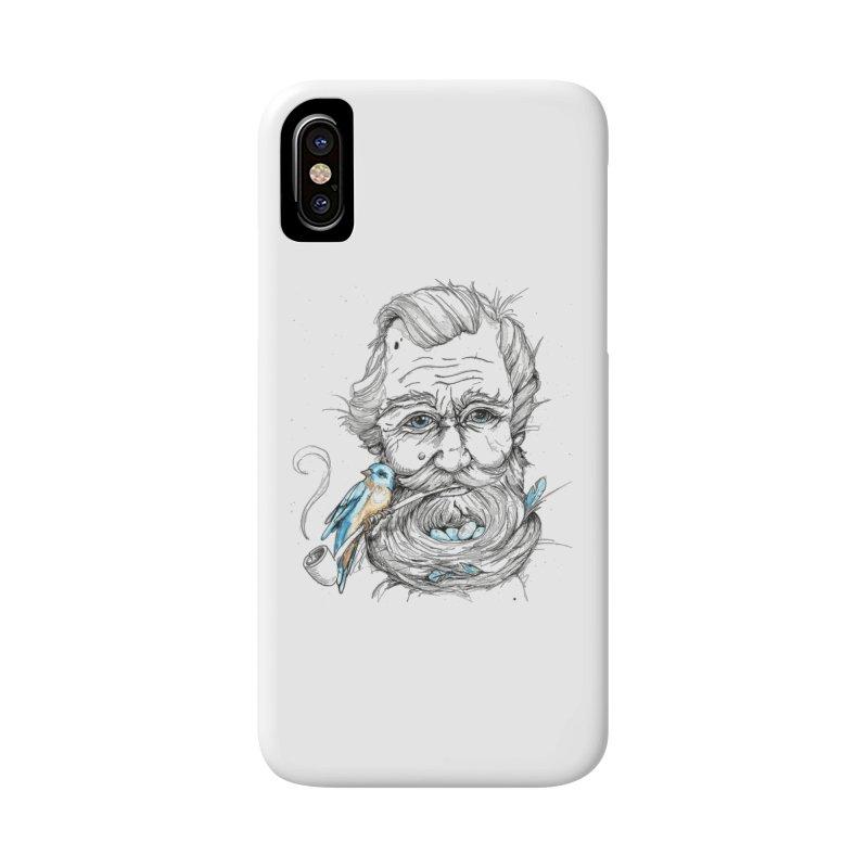 Beards Nest Accessories Phone Case by jojostudio's Artist Shop