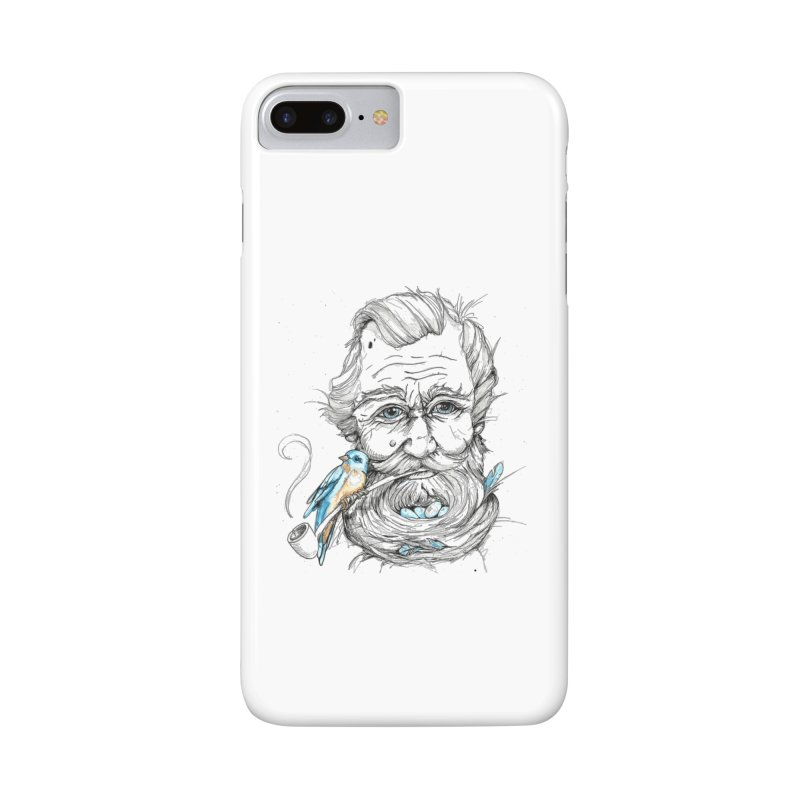 Beards Nest Accessories Phone Case by jojostudio's Artist Shop