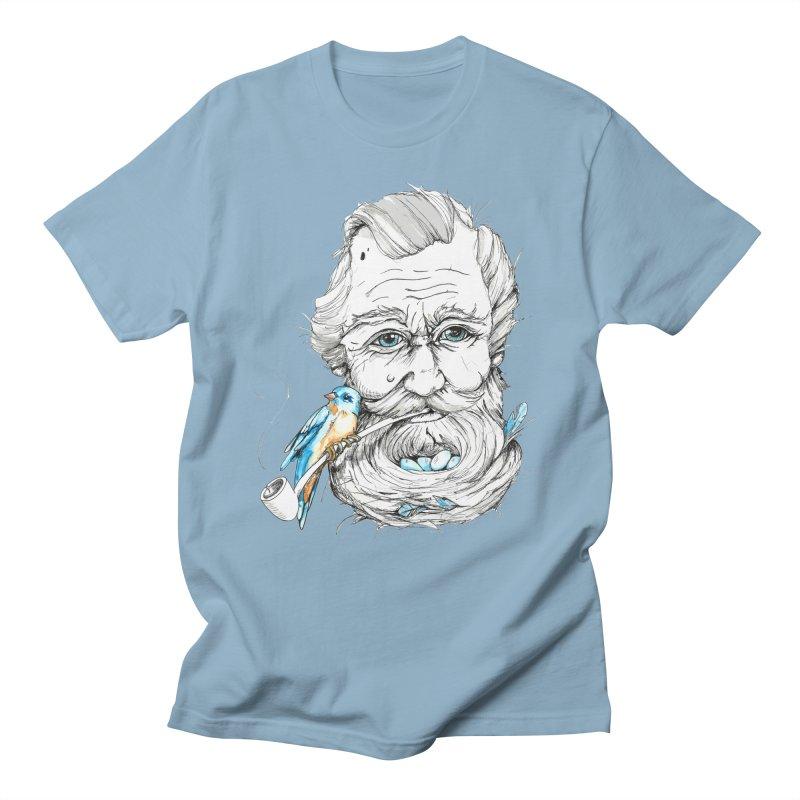 Beards Nest Men's T-Shirt by jojostudio's Artist Shop
