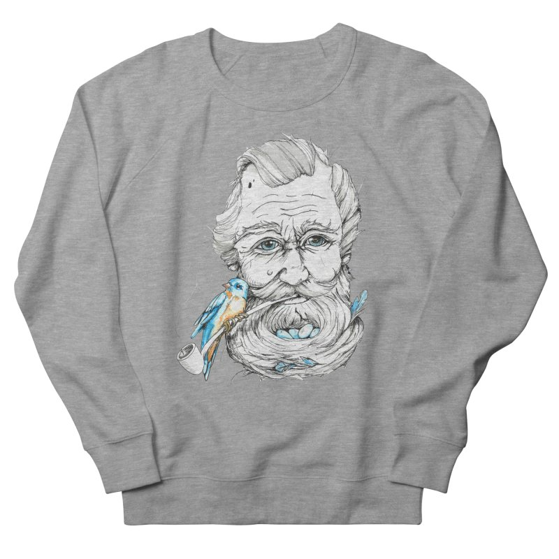 Beards Nest Women's French Terry Sweatshirt by jojostudio's Artist Shop