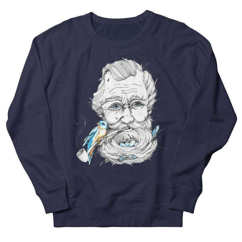 Beards Nest Men's French Terry Sweatshirt by jojostudio's Artist Shop