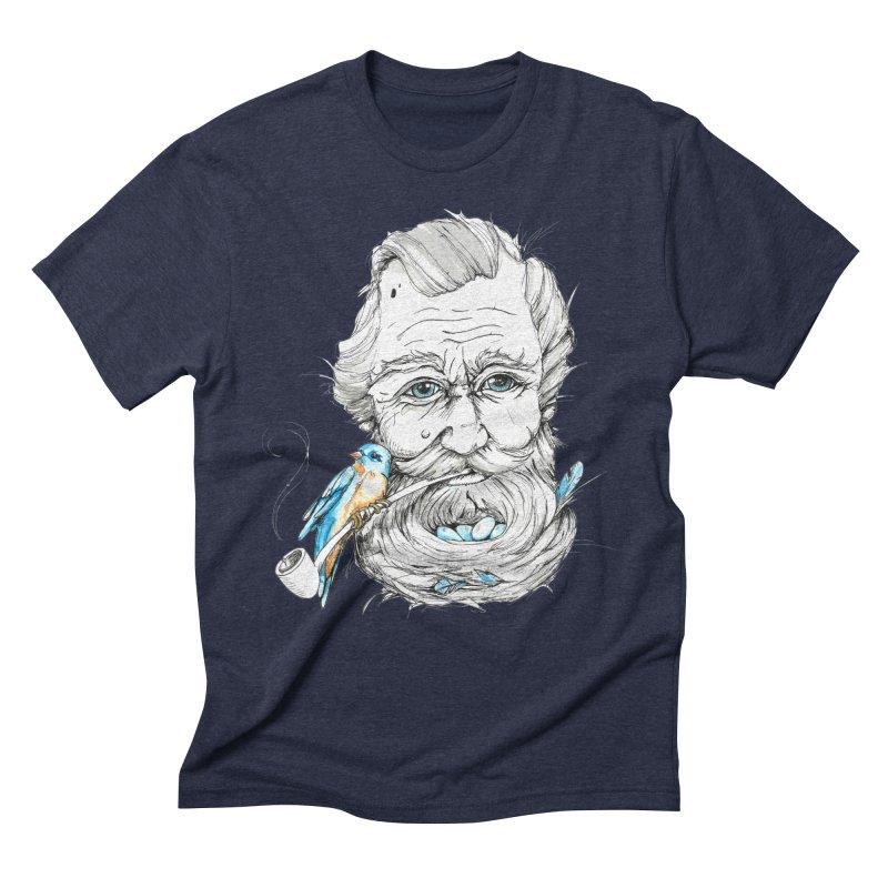 Beards Nest Men's Triblend T-Shirt by jojostudio's Artist Shop