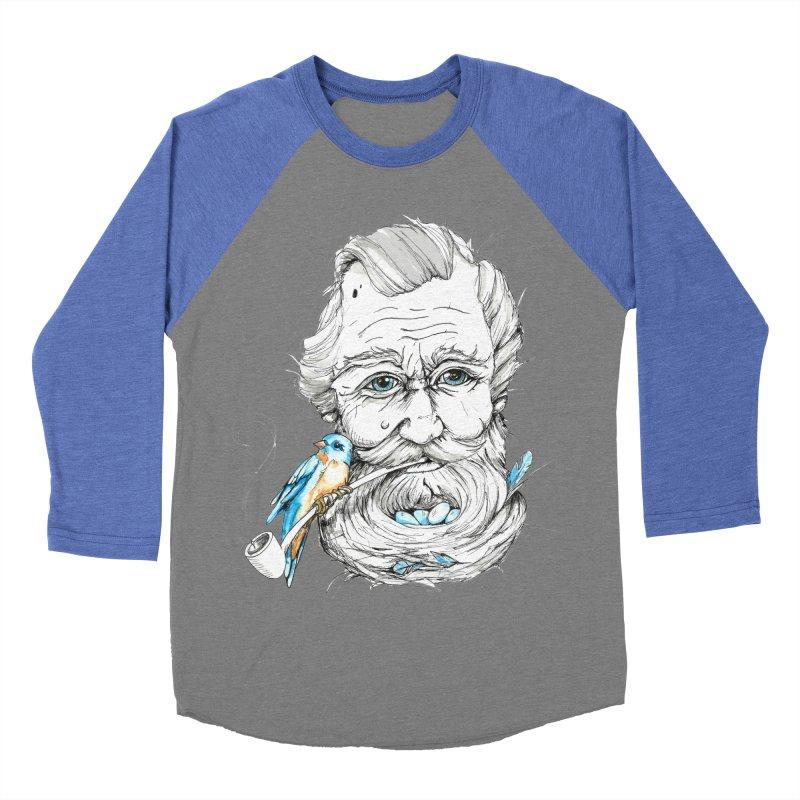 Beards Nest Women's Baseball Triblend T-Shirt by jojostudio's Artist Shop