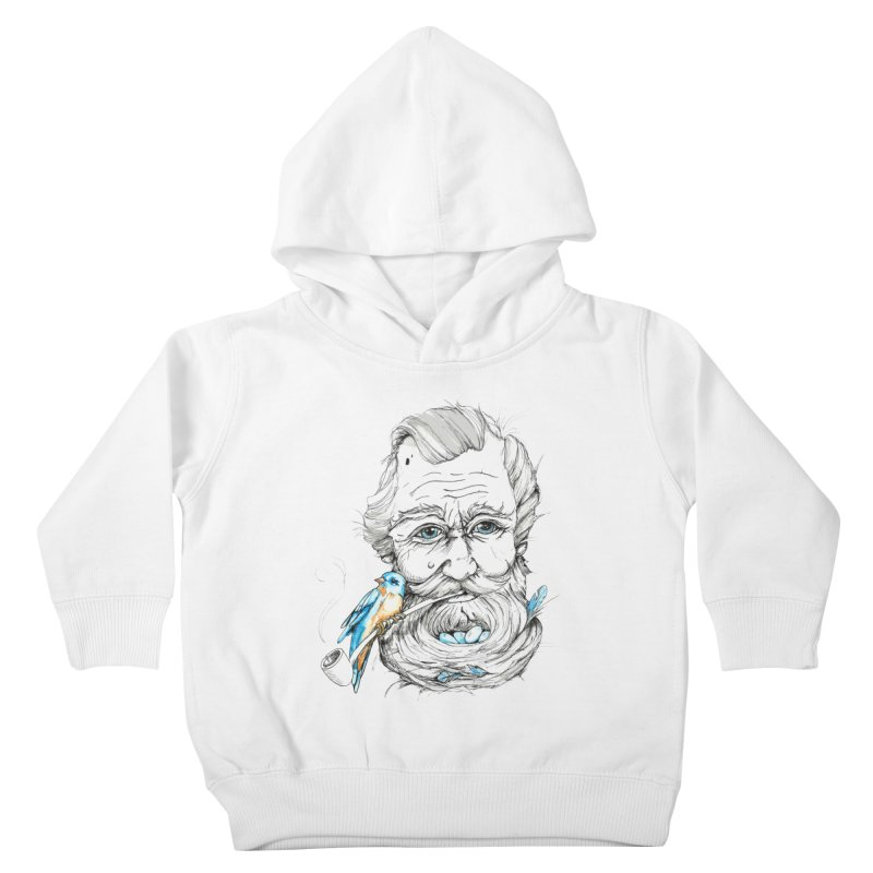 Beards Nest Kids Toddler Pullover Hoody by jojostudio's Artist Shop