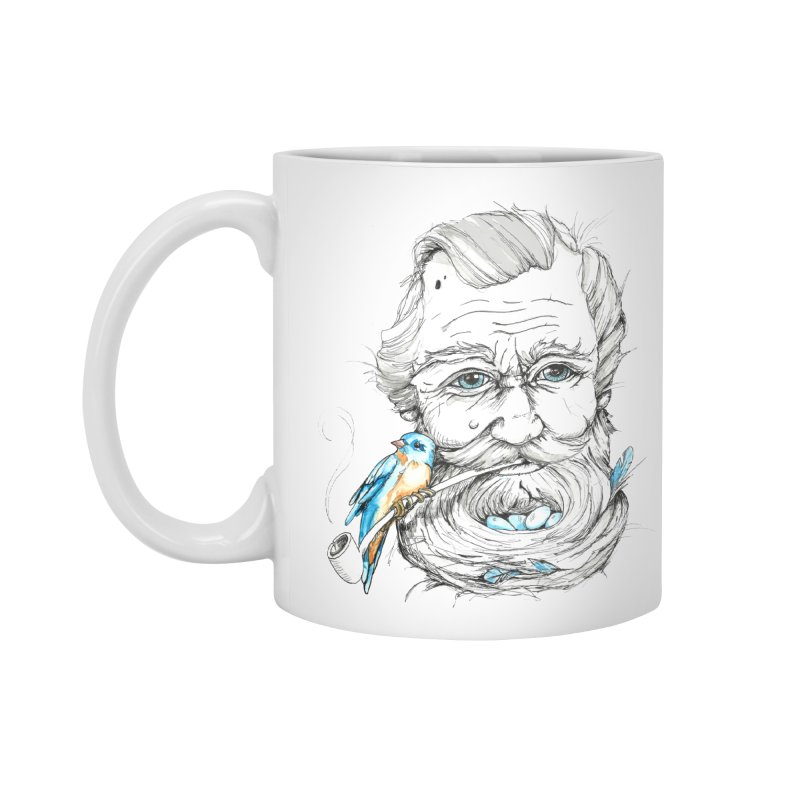 Beards Nest Accessories Mug by jojostudio's Artist Shop