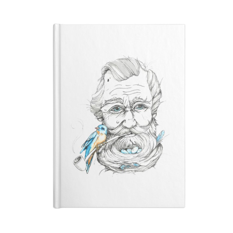 Beards Nest Accessories Notebook by jojostudio's Artist Shop