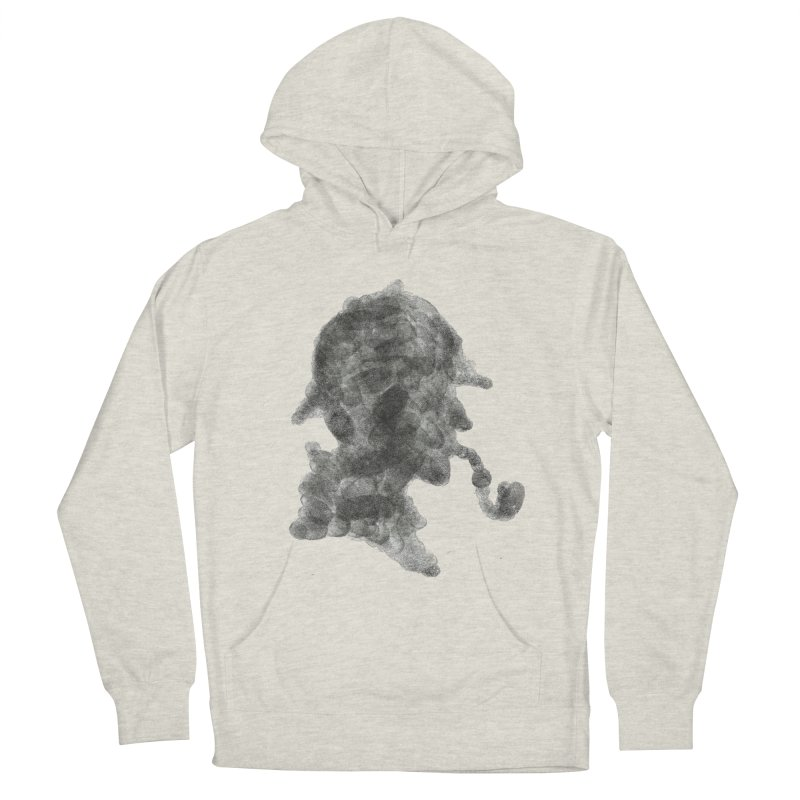 Mr Holmes Men's French Terry Pullover Hoody by jojostudio's Artist Shop