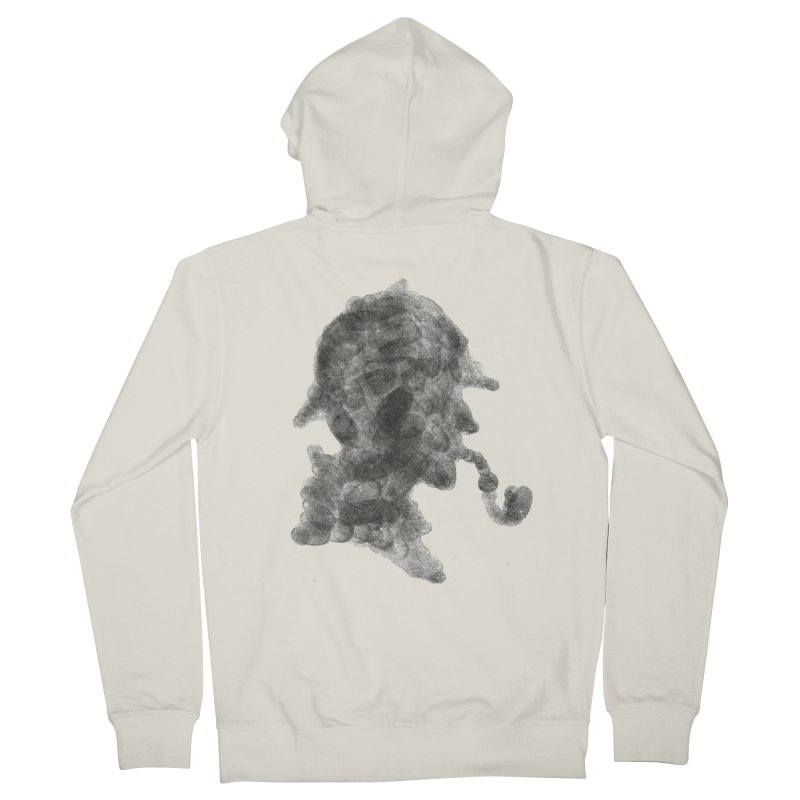 Mr Holmes Men's Zip-Up Hoody by jojostudio's Artist Shop
