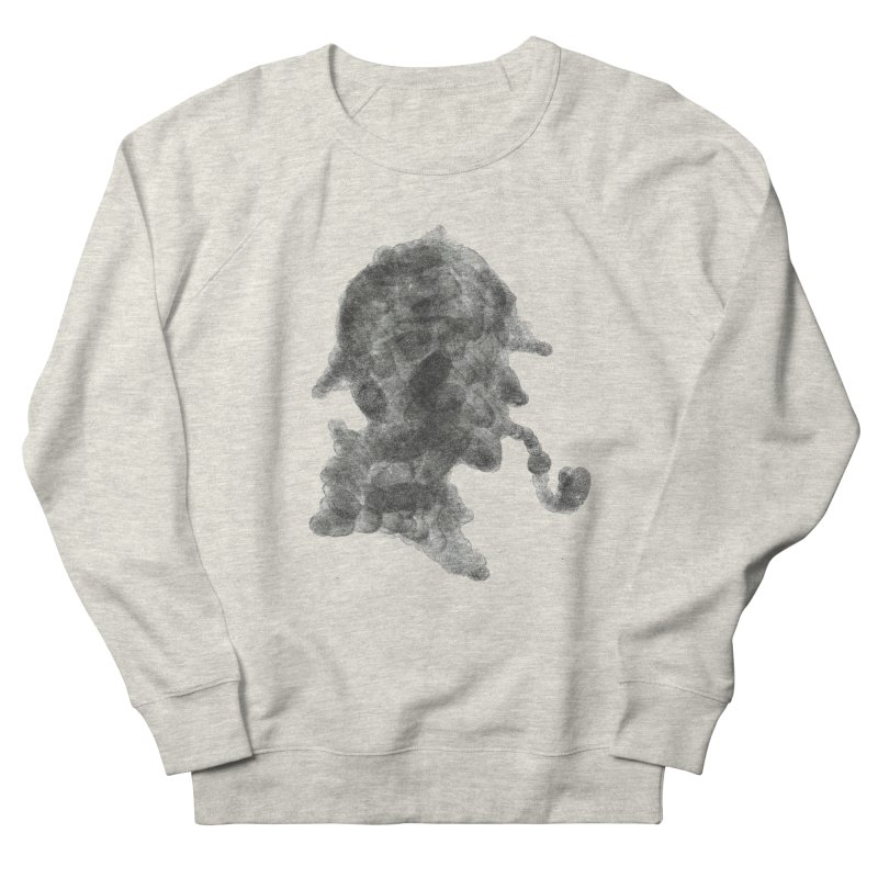 Mr Holmes Women's French Terry Sweatshirt by jojostudio's Artist Shop