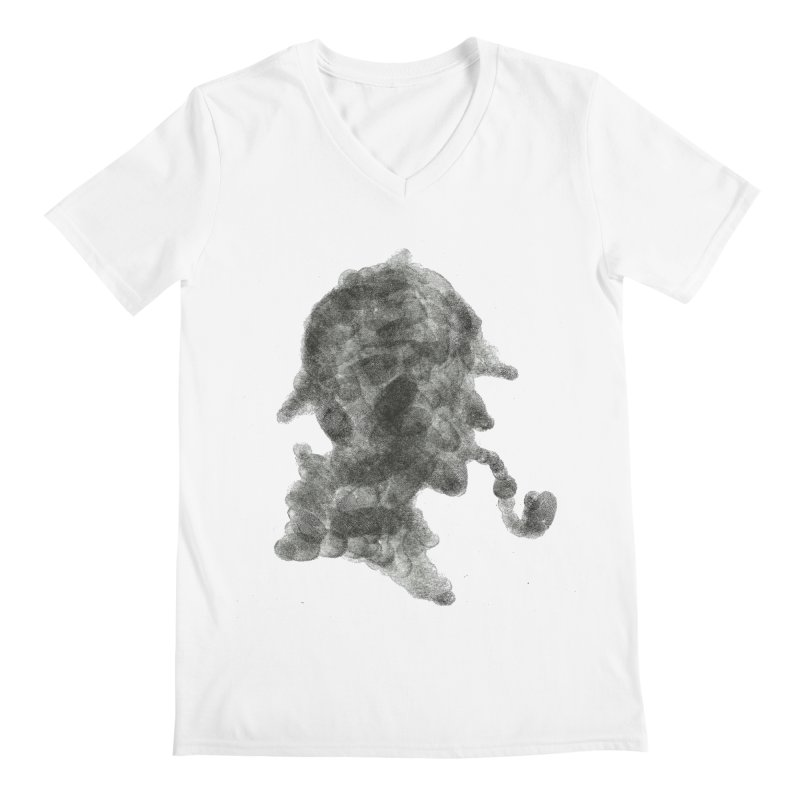 Mr Holmes Men's Regular V-Neck by jojostudio's Artist Shop
