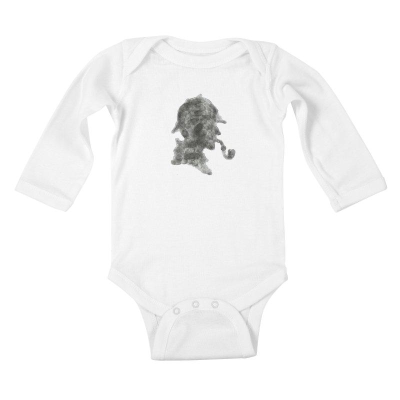 Mr Holmes Kids Baby Longsleeve Bodysuit by jojostudio's Artist Shop