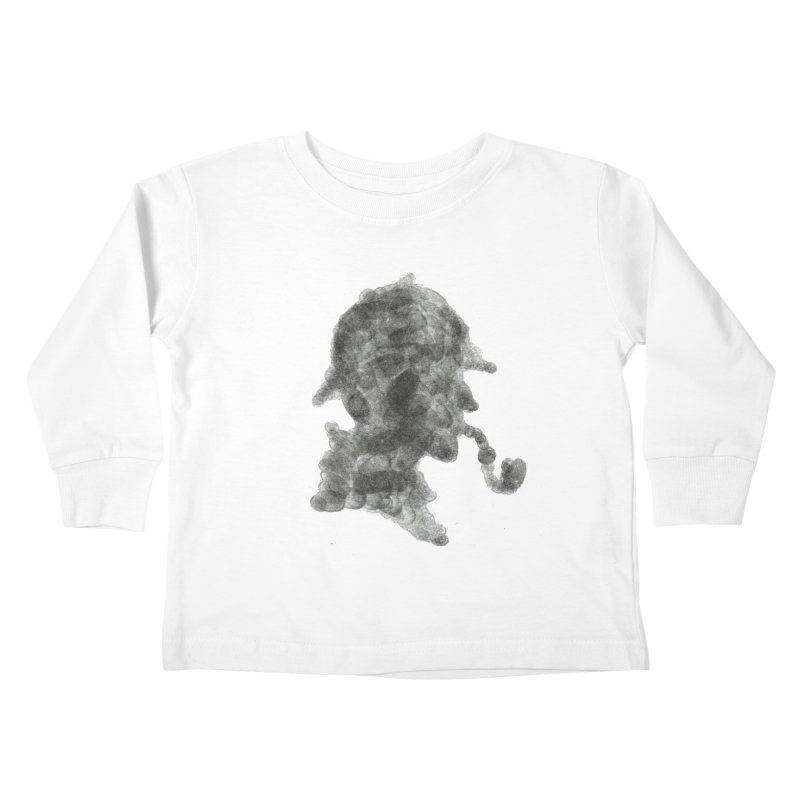 Mr Holmes Kids Toddler Longsleeve T-Shirt by jojostudio's Artist Shop