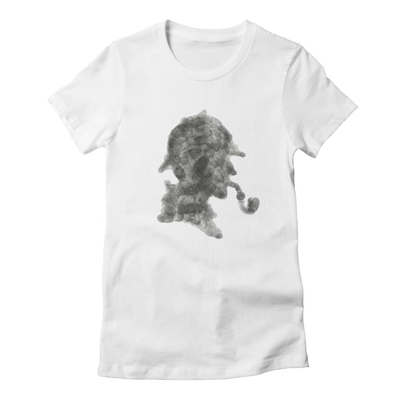 Mr Holmes Women's Fitted T-Shirt by jojostudio's Artist Shop