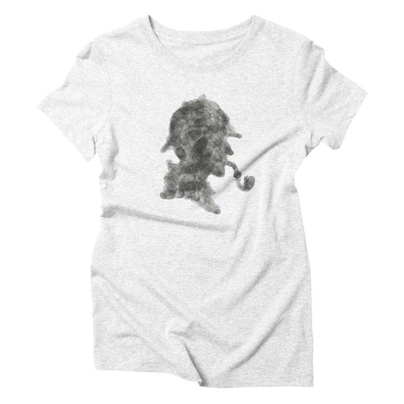 Mr Holmes Women's Triblend T-shirt by jojostudio's Artist Shop