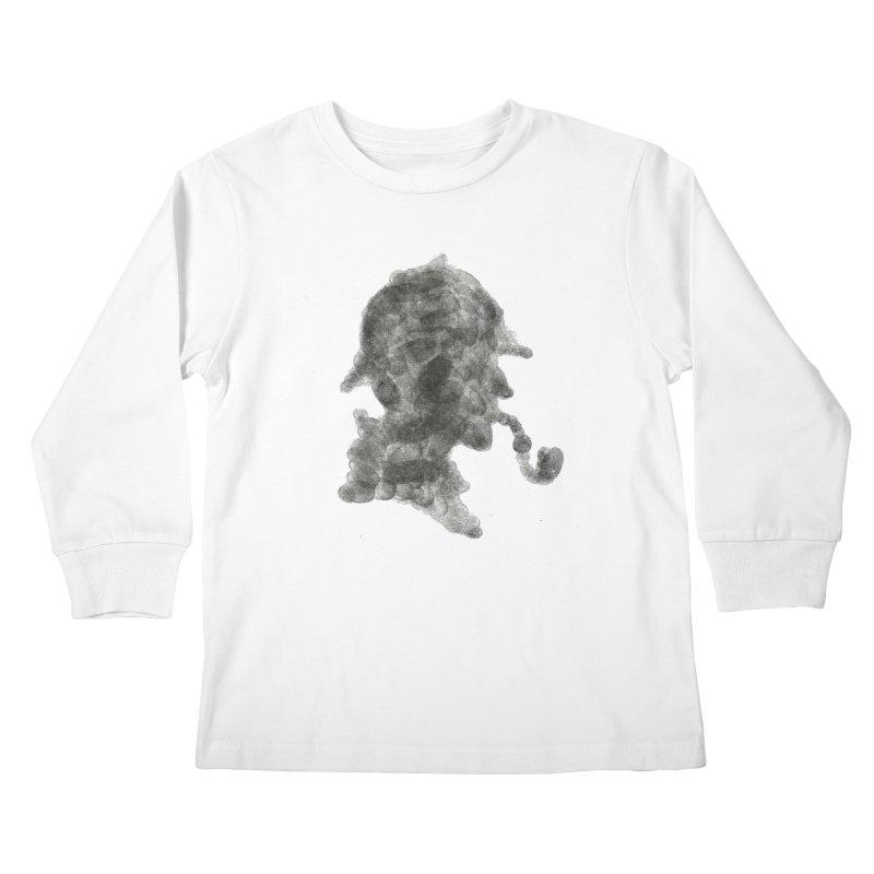 Mr Holmes Kids Longsleeve T-Shirt by jojostudio's Artist Shop