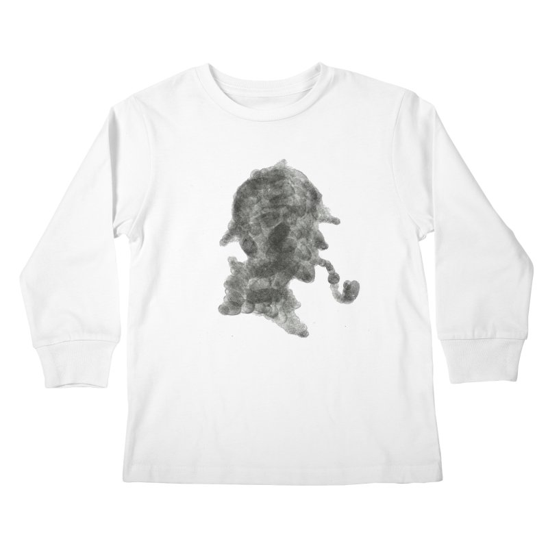 Mr Holmes Kids Longsleeve T-Shirt by jojostudio's Artist Shop