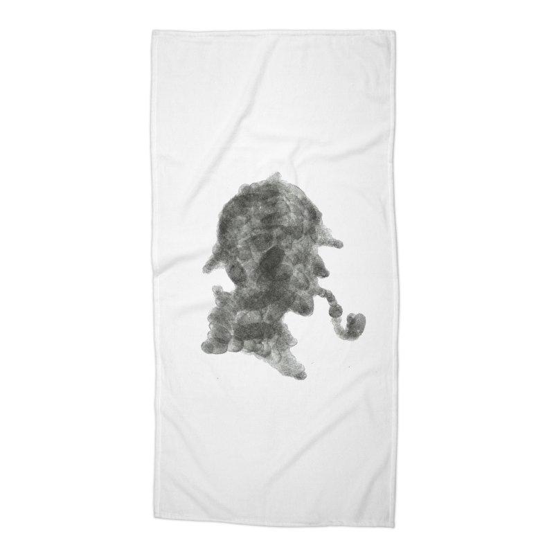 Mr Holmes Accessories Beach Towel by jojostudio's Artist Shop