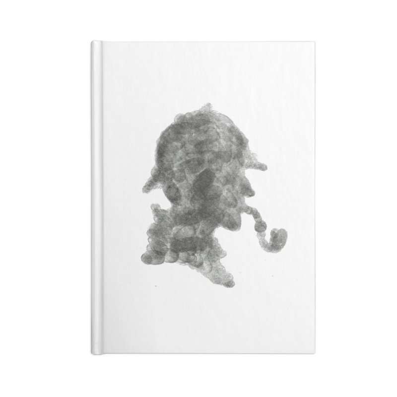 Mr Holmes Accessories Notebook by jojostudio's Artist Shop