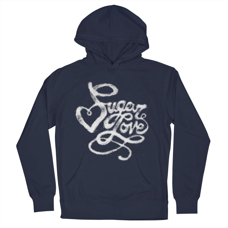 Sugar Love Men's French Terry Pullover Hoody by jojostudio's Artist Shop