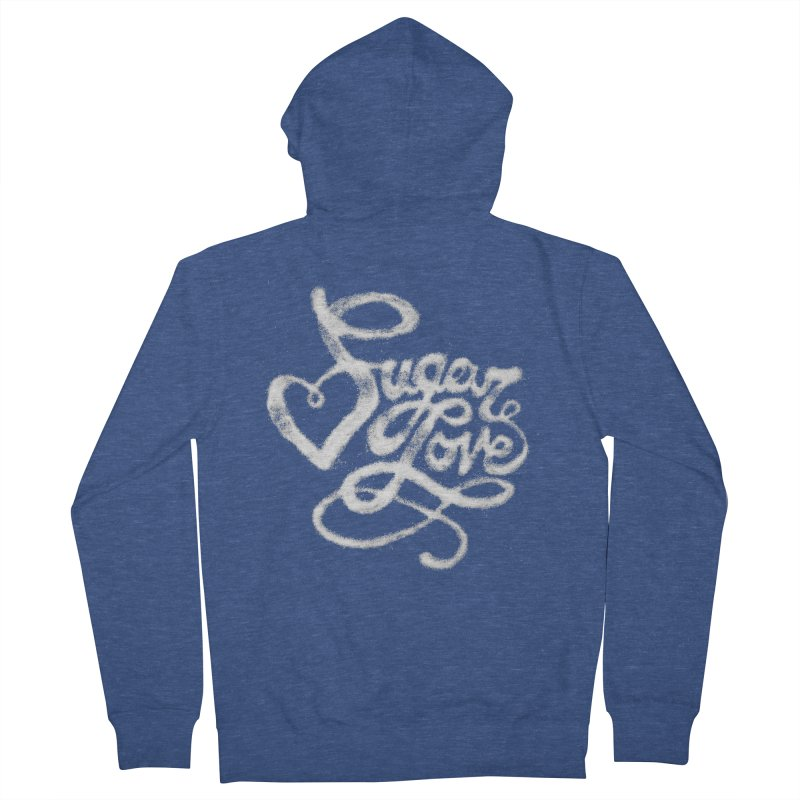 Sugar Love Women's Zip-Up Hoody by jojostudio's Artist Shop