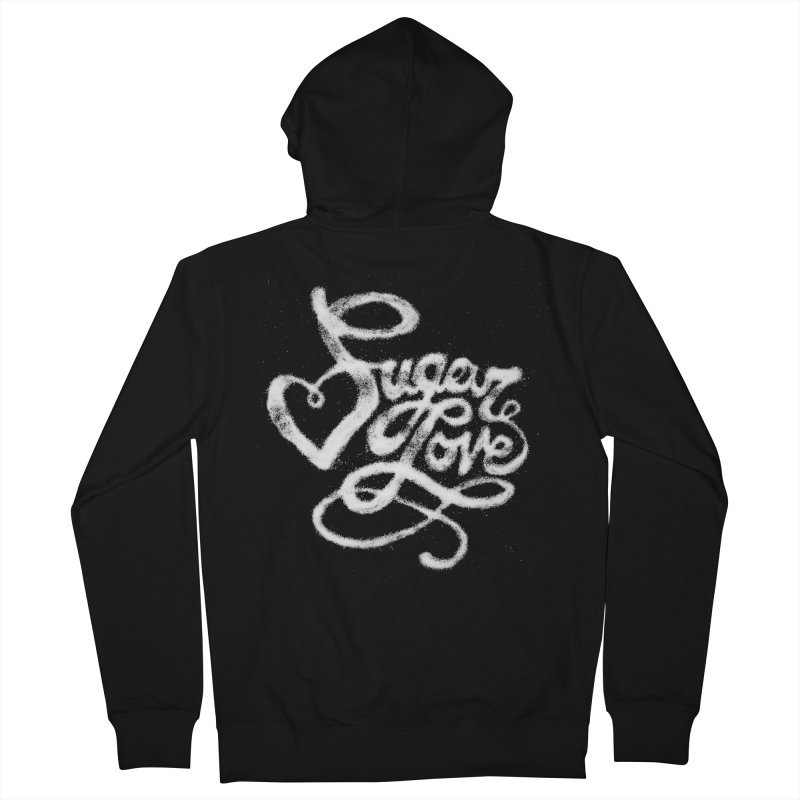 Sugar Love Men's Zip-Up Hoody by jojostudio's Artist Shop
