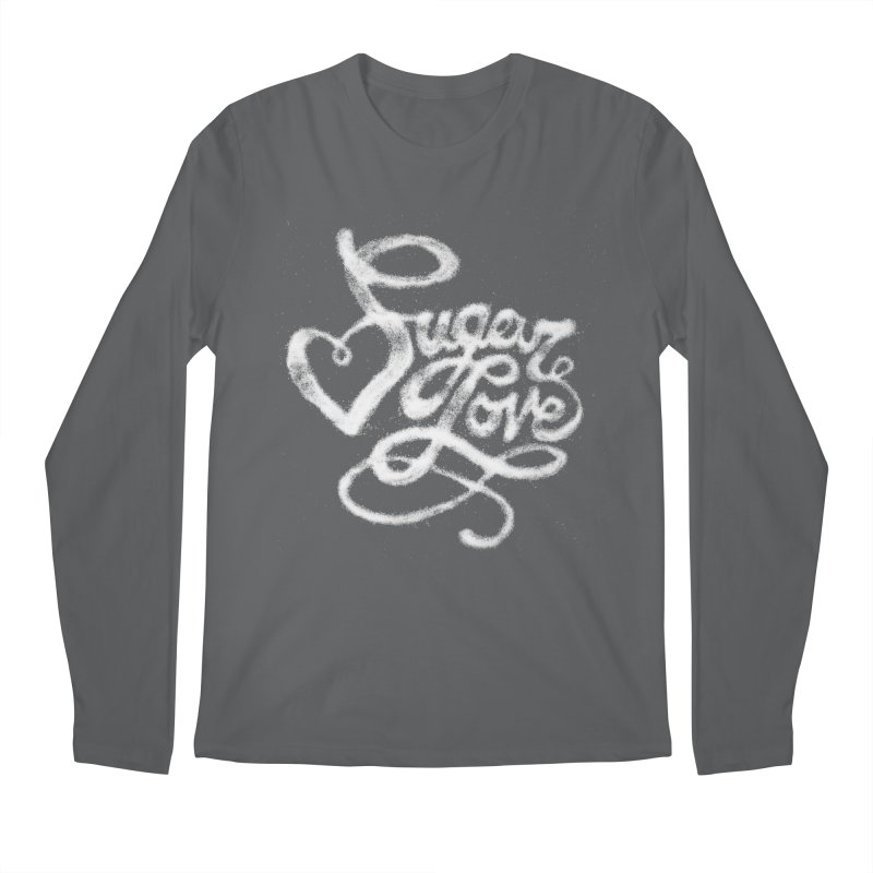 Sugar Love Men's Longsleeve T-Shirt by jojostudio's Artist Shop