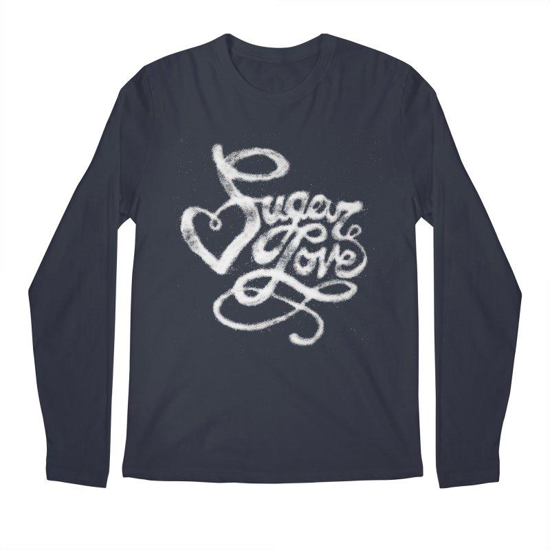 Sugar Love Men's Regular Longsleeve T-Shirt by jojostudio's Artist Shop