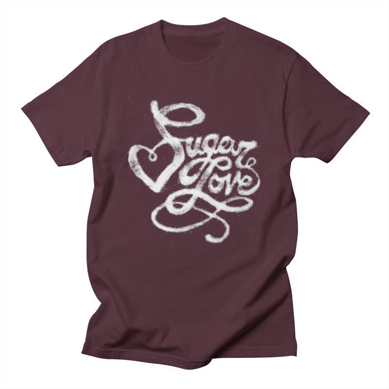 Sugar Love Men's Regular T-Shirt by jojostudio's Artist Shop