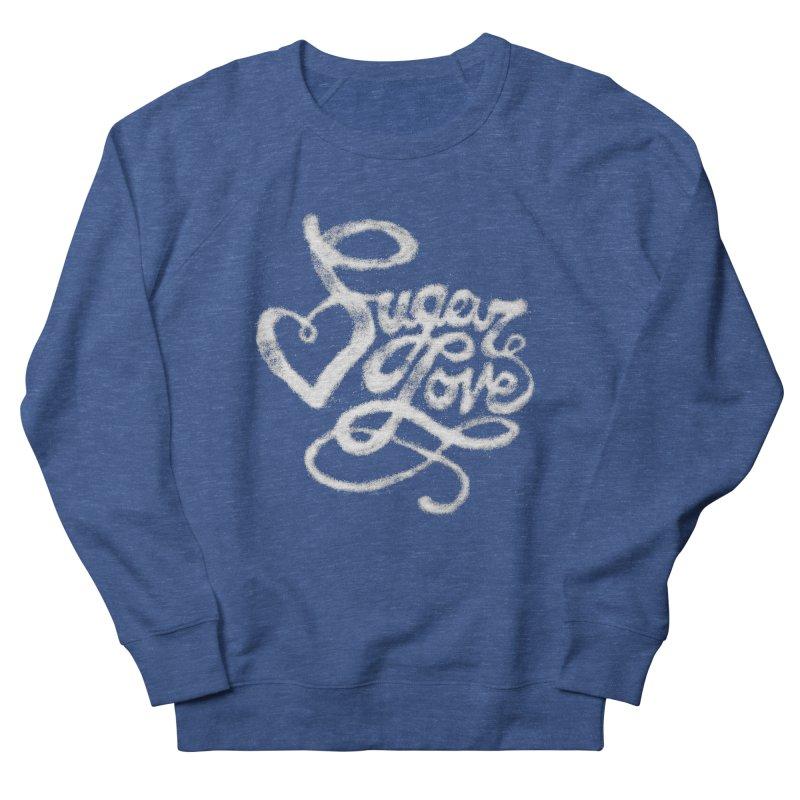 Sugar Love Men's French Terry Sweatshirt by jojostudio's Artist Shop