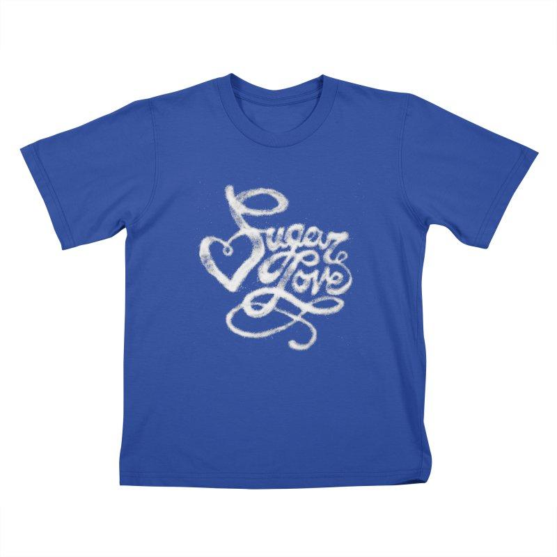 Sugar Love Kids T-Shirt by jojostudio's Artist Shop