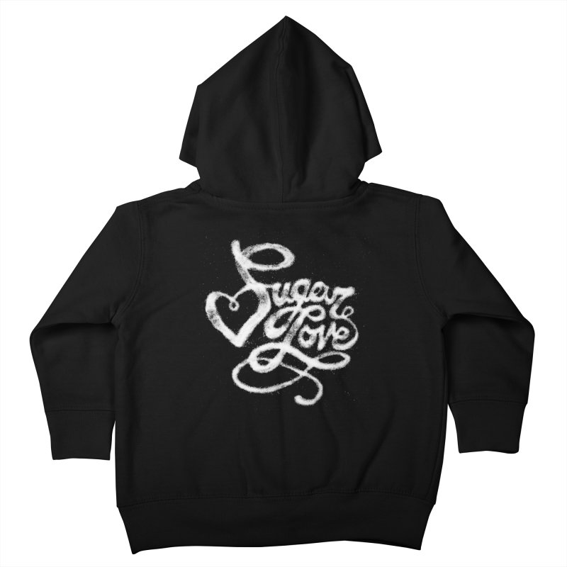 Sugar Love Kids Toddler Zip-Up Hoody by jojostudio's Artist Shop