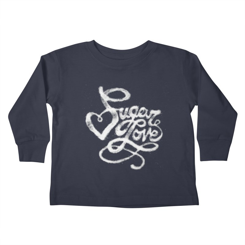 Sugar Love Kids Toddler Longsleeve T-Shirt by jojostudio's Artist Shop