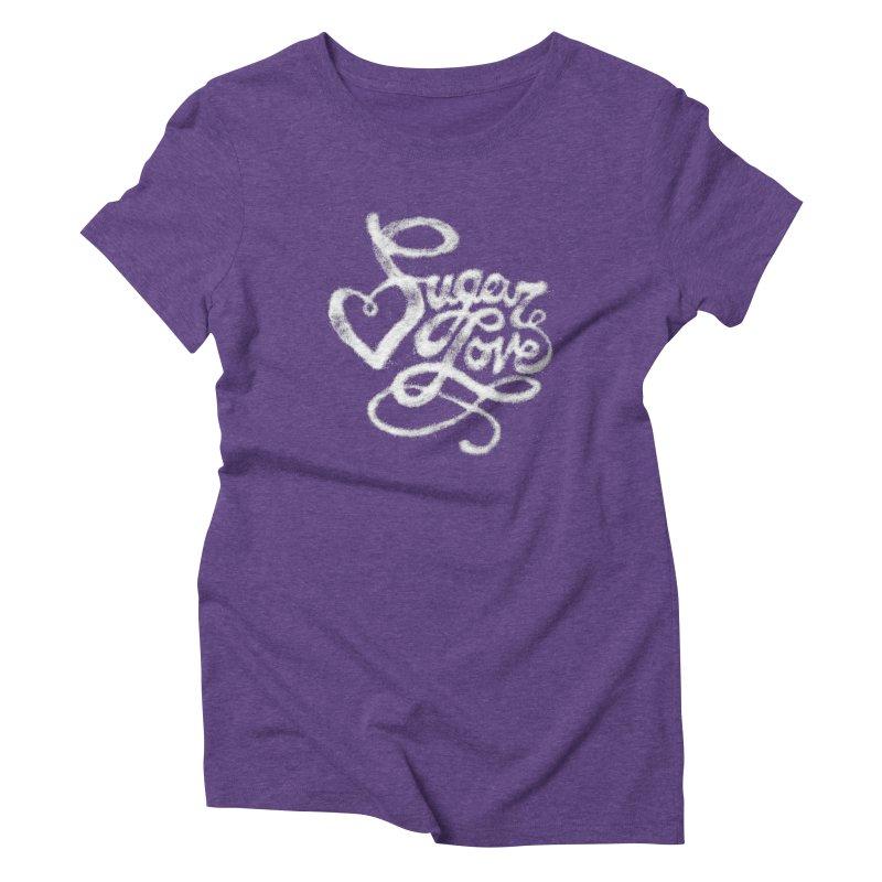 Sugar Love Women's Triblend T-Shirt by jojostudio's Artist Shop