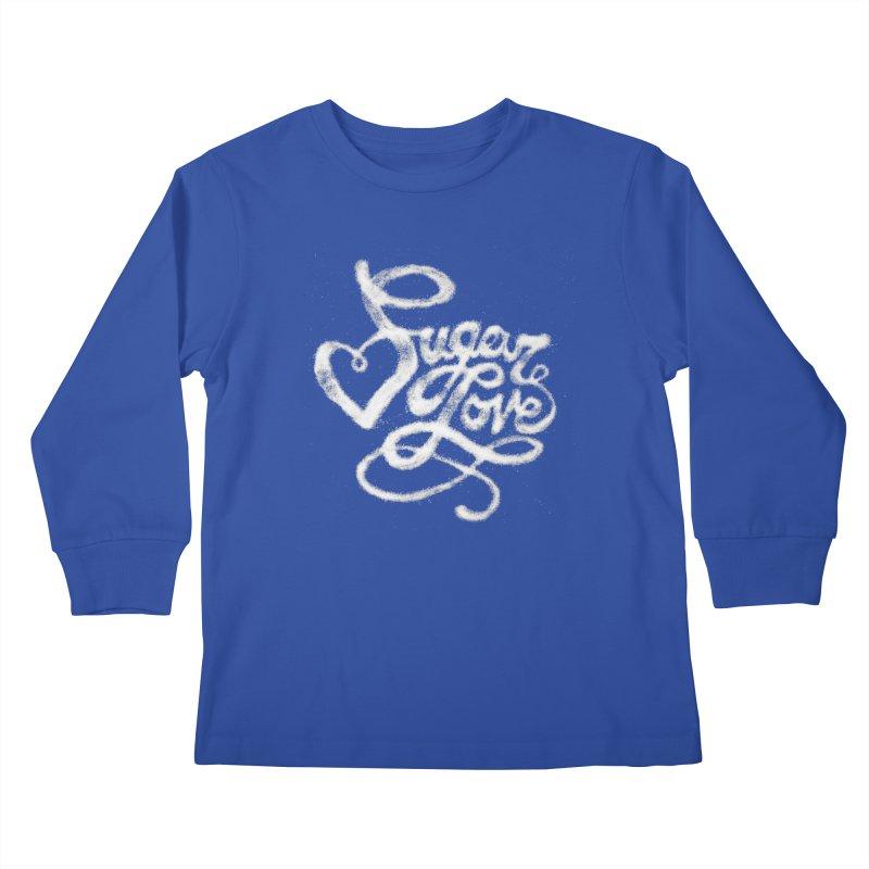 Sugar Love Kids Longsleeve T-Shirt by jojostudio's Artist Shop