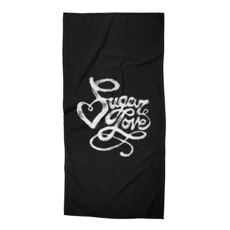 Sugar Love Accessories Beach Towel by jojostudio's Artist Shop
