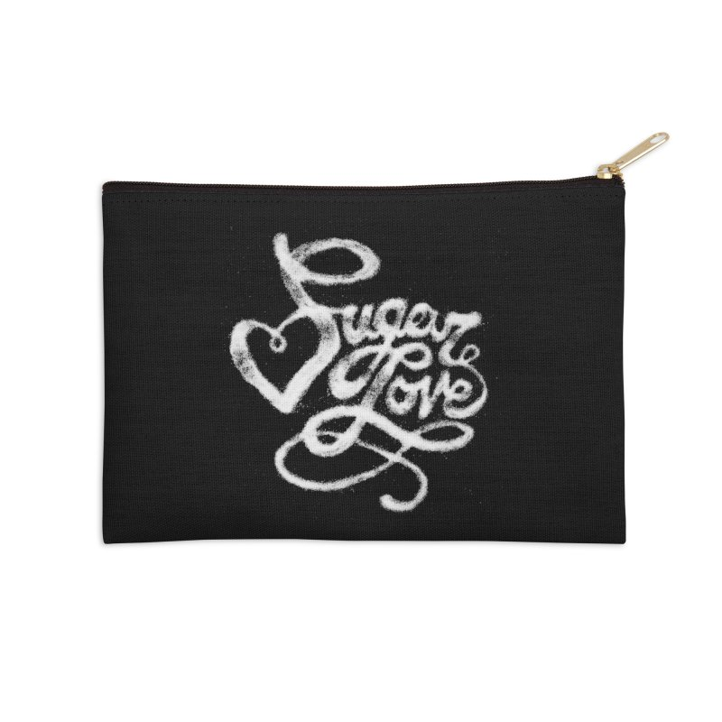 Sugar Love Accessories Zip Pouch by jojostudio's Artist Shop