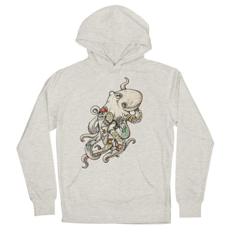 INK'D Men's French Terry Pullover Hoody by jojostudio's Artist Shop