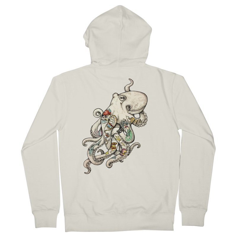 INK'D Women's Zip-Up Hoody by jojostudio's Artist Shop