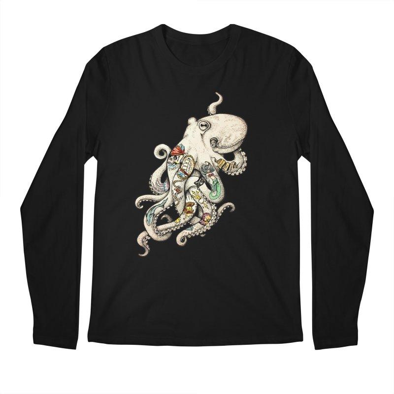 INK'D Men's Regular Longsleeve T-Shirt by jojostudio's Artist Shop