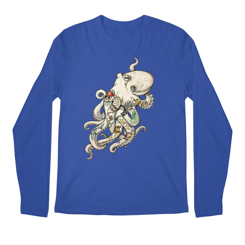 INK'D Men's Regular Longsleeve T-Shirt by jojostudio's Artist Shop