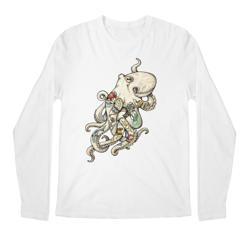 INK'D Men's Longsleeve T-Shirt by jojostudio's Artist Shop