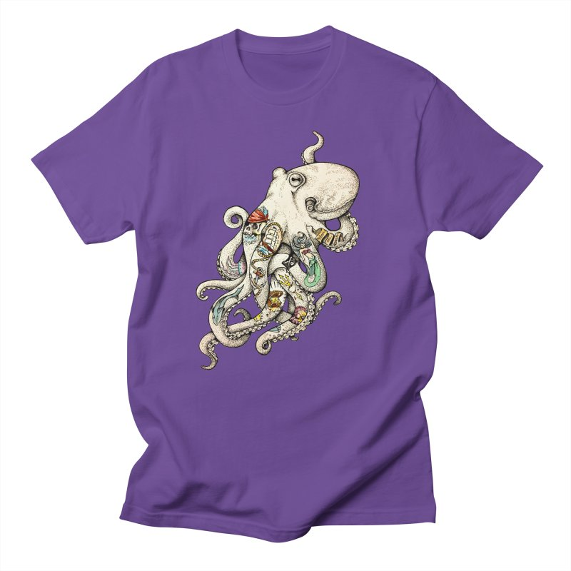 INK'D Women's Regular Unisex T-Shirt by jojostudio's Artist Shop