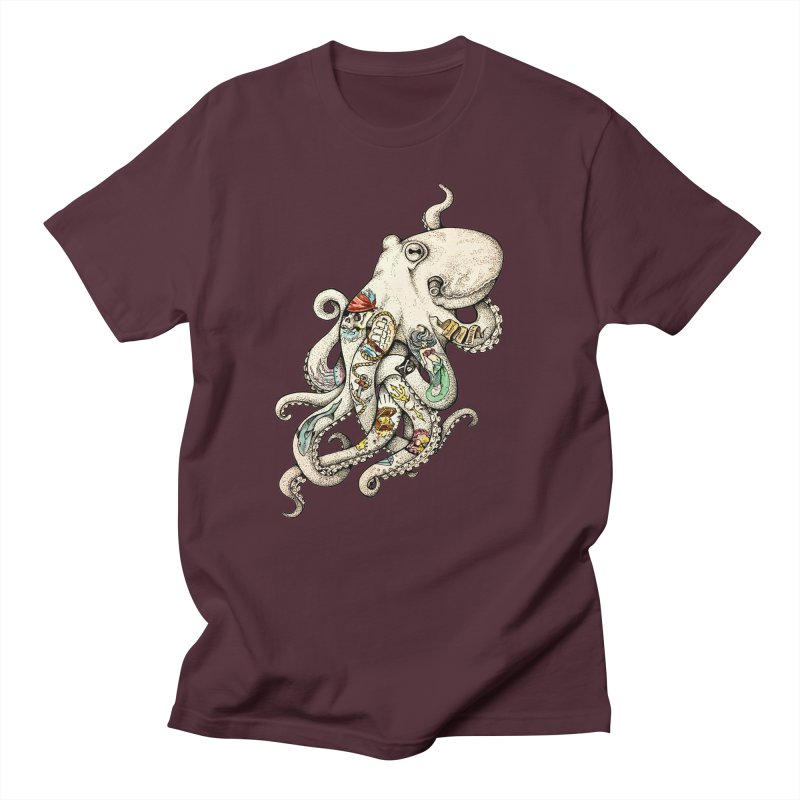 INK'D Women's Unisex T-Shirt by jojostudio's Artist Shop