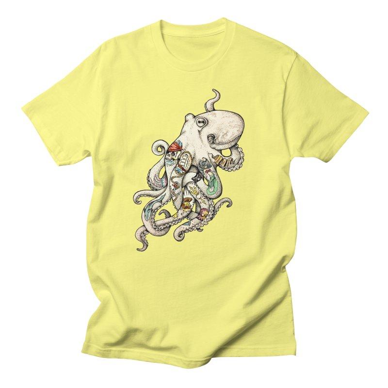 INK'D Women's Unisex T-Shirt by jojostudio's Artist Shop