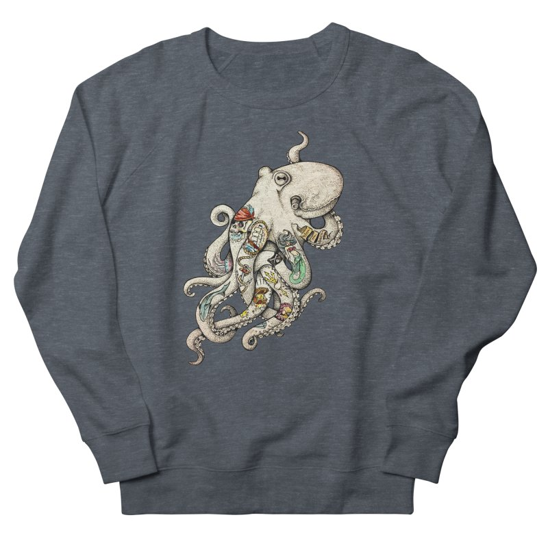 INK'D Women's Sweatshirt by jojostudio's Artist Shop