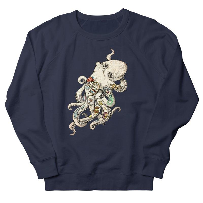 INK'D Women's French Terry Sweatshirt by jojostudio's Artist Shop