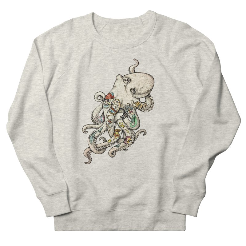 INK'D Women's French Terry Sweatshirt by jojostudio's Artist Shop