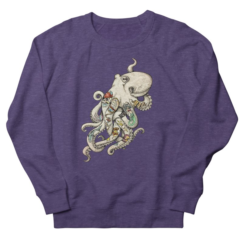 INK'D Men's French Terry Sweatshirt by jojostudio's Artist Shop