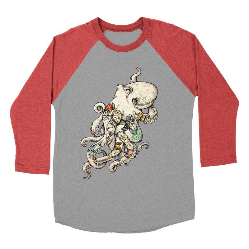 INK'D Women's Baseball Triblend Longsleeve T-Shirt by jojostudio's Artist Shop