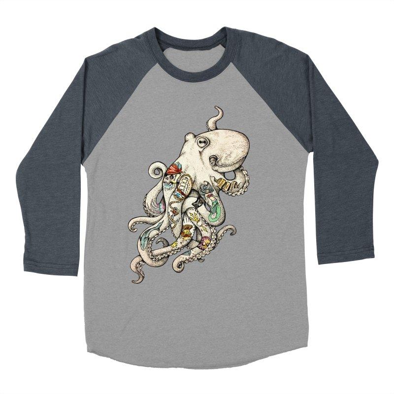 INK'D Women's Baseball Triblend T-Shirt by jojostudio's Artist Shop